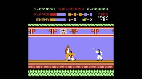 Kung-Fu Master NES