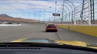 Laps for Charity Las Vegas Motor Speedway Camaros 2020 Bobbies View