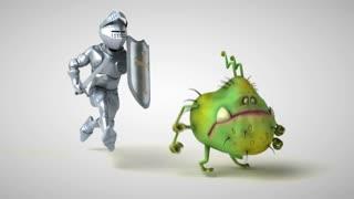 Knight runs for coronavirus