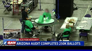 Ariz. Audit Completes 250k Ballots