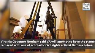 Statue of Robert E. Lee removed from U.S. Capitol