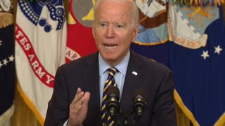 President Biden delivers remarks about troop drawdowns in Afghanistan — 7/8/2021