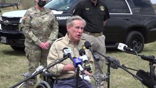 Texas Governor: Biden Responsible for Border Crisis
