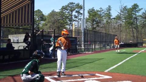 A nice shot at Baseball Heaven on Long Island