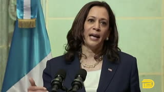 Kamala Harris tells migrants 'do not come' during talks in Guatemala