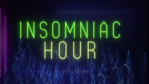 Insomniac Hour   Special Guest - David Whitehead - DW Truth Warrior - New World Order