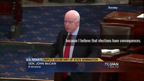 McCain Speech About Blinken