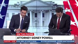 """Sidney Powell says the election scandal will be """"Biblical"""" on my Network!"""