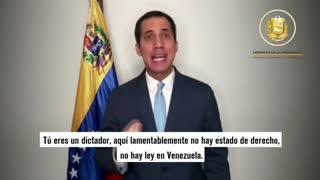Guaidó respondió a acusaciones de Maduro