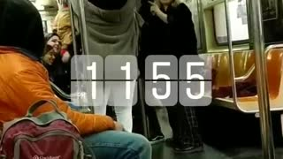Tlc scrubs 1155 subway dance party