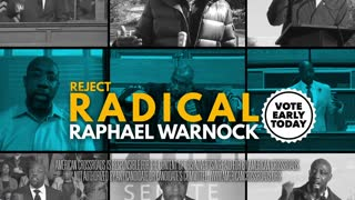 American Crossroads: Radical Ralph Warnock Celebrates Condemnation of America