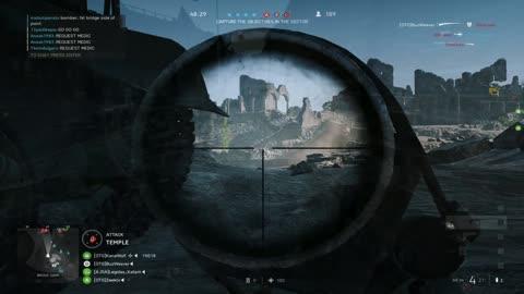 Battlefield 5 | Long Range Snipe |