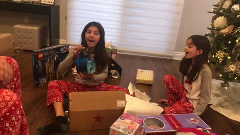 Little Bro Makes Adorable Discovery on Christmas Morning