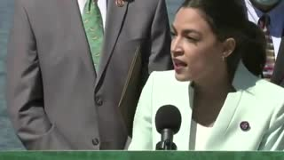 What??? AOC Blames Climate Change for Racism