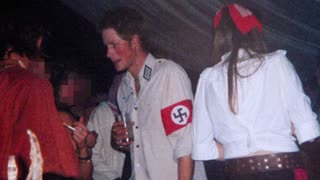 Former Swastika-Wearing 'Prince Harry' Pushes For Censorship of Americans