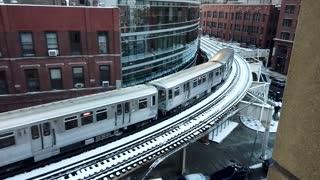 Train city beautiful