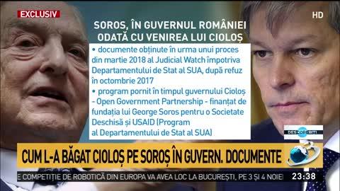 Program cu Soros, demarat de Guvernul Cioloș