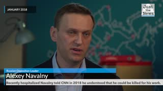 Recently hospitalized Navalny said he understood that he could be killed for his work.