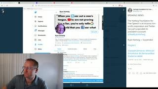 Twitter Suspends President of Hartwig Foundation-Episode 1
