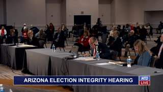 Witness at Arizona Hearing Offers Bombshell Claims About Dominion