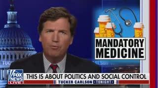 Tucker Catches Biden in Mandate LIE: Watch