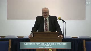 Pastor C. M. Mosley, Series: Moses, Lessons From the Education of Moses