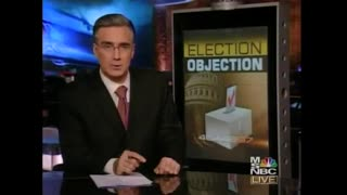 Flashback: Media Pundits Saw Absolutely Nothing Wrong with Dems Objecting 04 Election Results