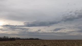 Fast clouds day break
