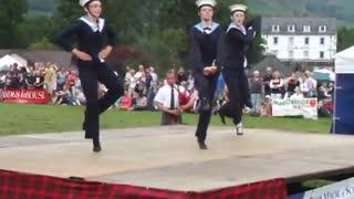 highland dancing...