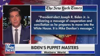 """WATCH: Jesse Watters Lists Joe Biden's 5 """"Puppet Masters"""""""