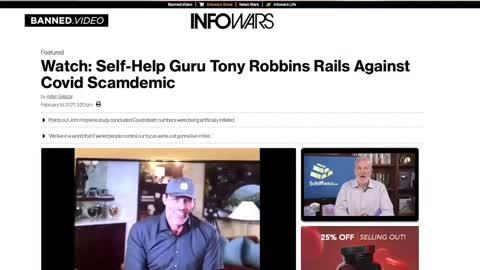 Tony Robbins EXPOSES COVID HOAX