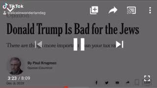 Trumps Characteristics believes 3 DJT bad for Jews