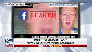 Project Veritas releases new video from inside Facebook