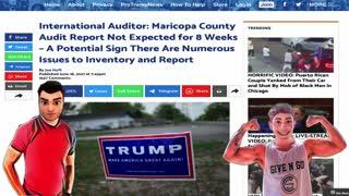 Arizona audit report may take up to 8 weeks
