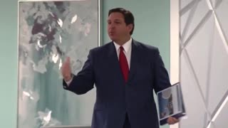 Florida Governor Ron DeSantis Says Save The Vaccine For The Vulnerable