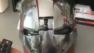 Superhero helmet