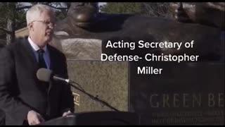 Politics - 2020 President Trump Secretary of Defense Speech Nov Regime Change