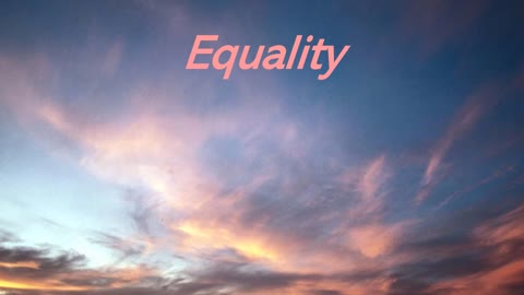 Equality by Gemma Beall