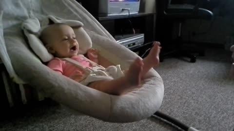 Emma making Haley laugh