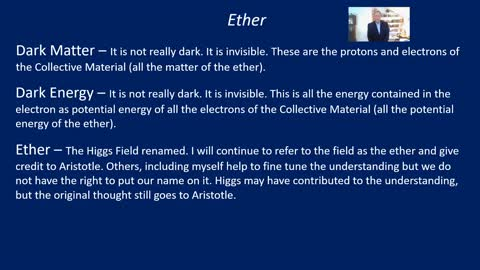 PS11a Ether effects on the lessons I present in this Physics class