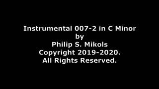 Instrumental 007-2 in C Minor