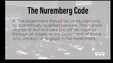 """The Nuremburg Code and the """"Delta Variant"""""""