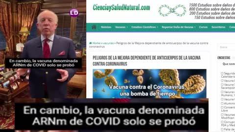 Las inyecciones contra C0 V 1D no son vacunas, son terapias genéticas experimentales
