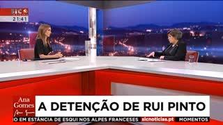 """Ana Gomes: """"Rui Pinto pode ter feito um tremendo serviço à comunidade"""""""