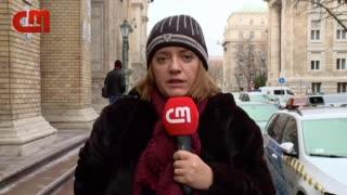 Rui Pinto chega a tribunal de Budapeste