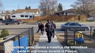 Polish pastor kicks out police from Church on Easter in Canada!!!