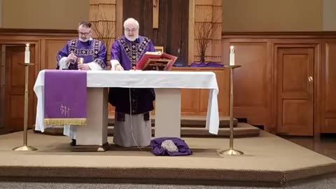 Sunday Mass (Lent II) -- February 28, 2021