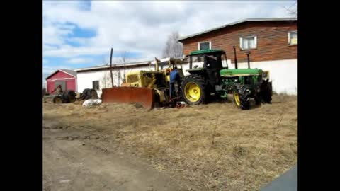 tractor D8H 36A First start in ten years