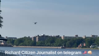 Richard Citizen Journalist - Blackhawks And A UFH(Unidentified Flying Helicopter) This Afternoon/Evening At Haines Point. 𝓣𝓱𝓮 𝓢𝓽𝓸𝓻𝓶 𝓘𝓼 𝓗𝓮𝓻𝓮