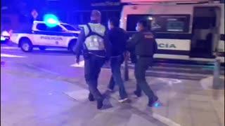 Capturado sujeto que agredió a un Policía